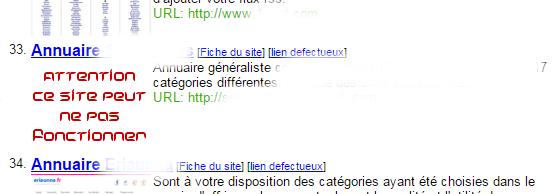 Exemple dd'AscreeN Hors ligne sur ApocalX Directory